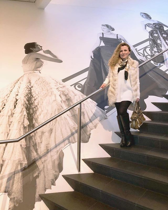 At the Dior: From Paris to The World exhibit #diorexhibition